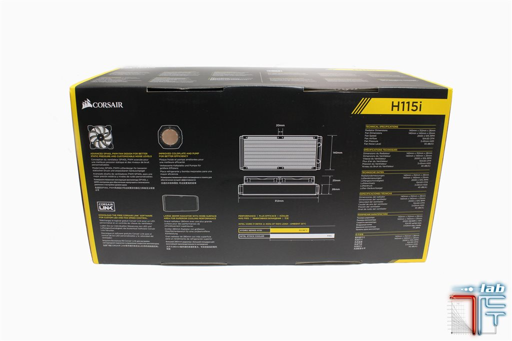 corsair h115i package2