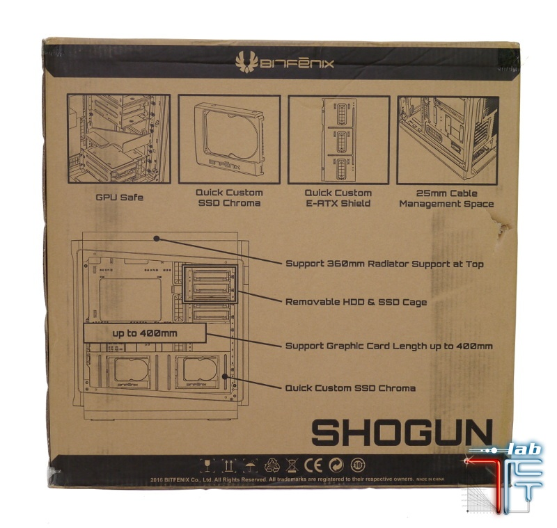 Shogun box front
