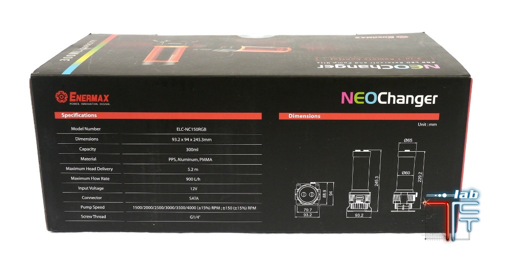 neochanger box back