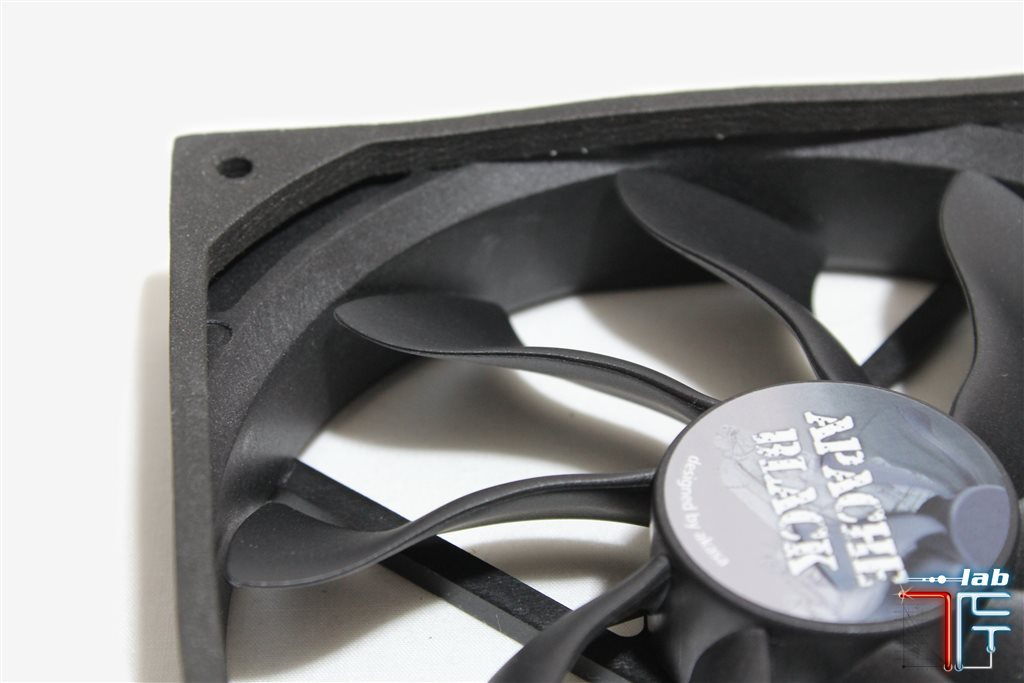 Akasa apache black fan impeller